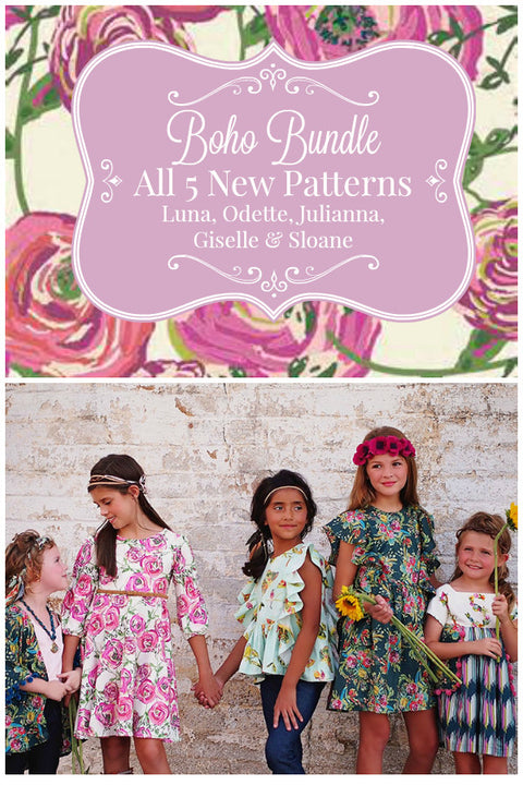 Fall Boho Collection 2016 - Bundle of 5 - Violette Field Threads  - 1