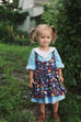 Autumn Baby Pinafore