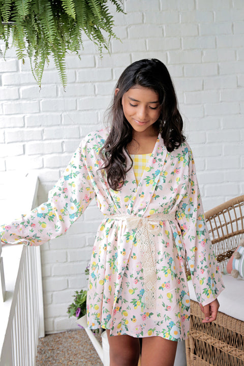 Delphine Tween Robe