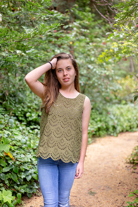 Nellie Tween Top