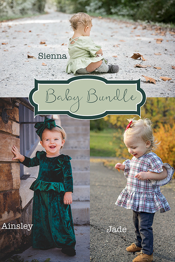 Ainsley, Jade & Sienna Baby Bundle