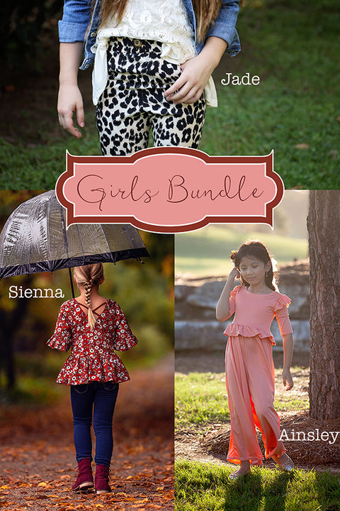 Ainsley, Jade & Sienna Girls Bundle + FREE GIFT