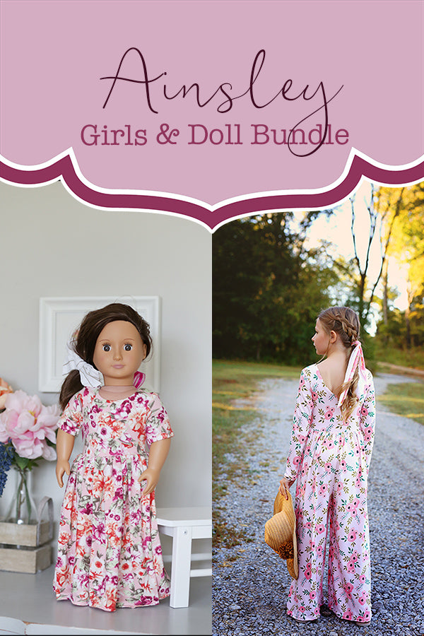 Ainsley Girls & Doll Bundle
