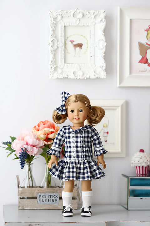 Alexandra Doll Top and Dress