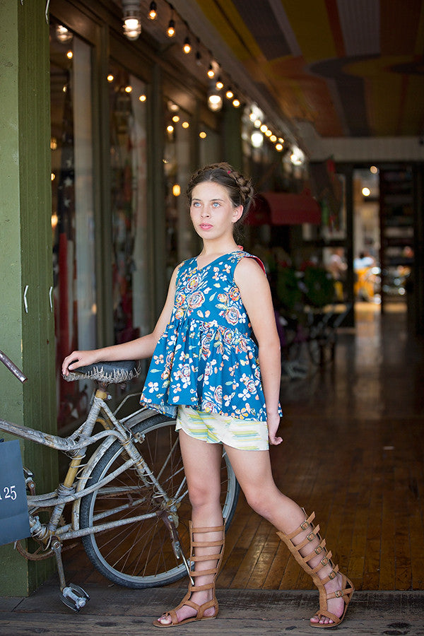 Lilly Tween Shorts - Violette Field Threads  - 1