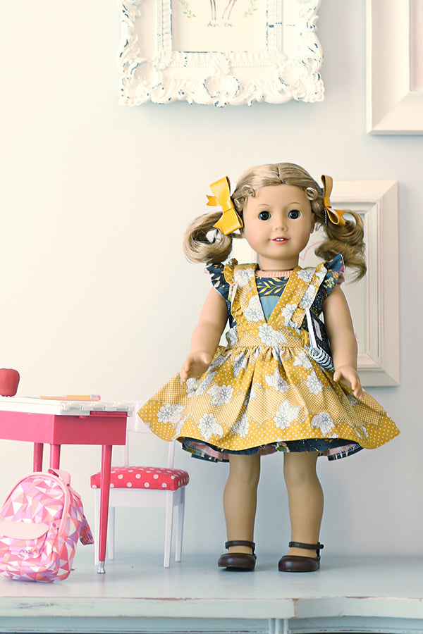 Lottie Doll Pinafore
