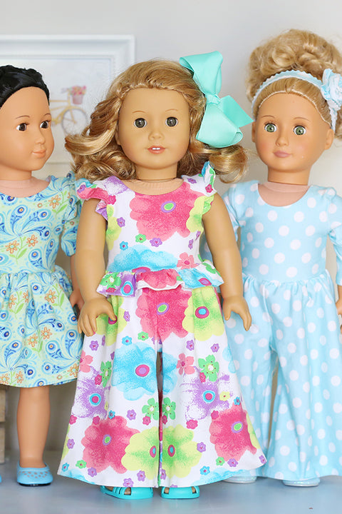 Ainsley Doll Dress & Romper