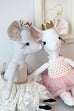 "Milly Mouse 18"" Stuffie Animal Pattern"