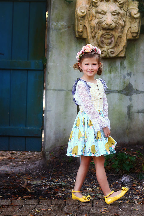 Hazel Skirt & Pinafore