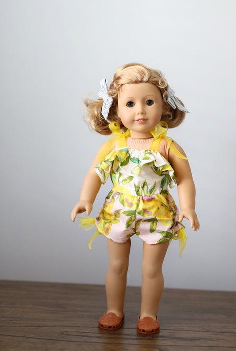 Priscilla Doll Dress & Romper