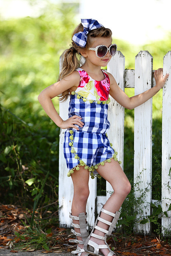 Sommer Romper - Violette Field Threads  - 1