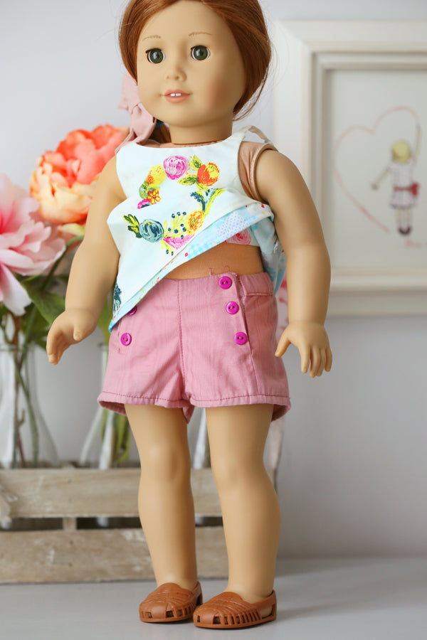 Avery Doll Shorts and Pants