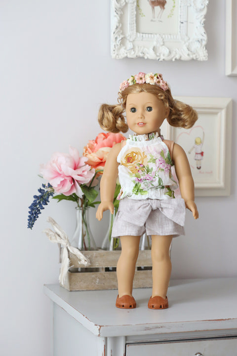 Celeste Doll Top and Shorts