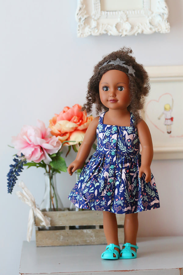 Gwen Doll Dress and Top
