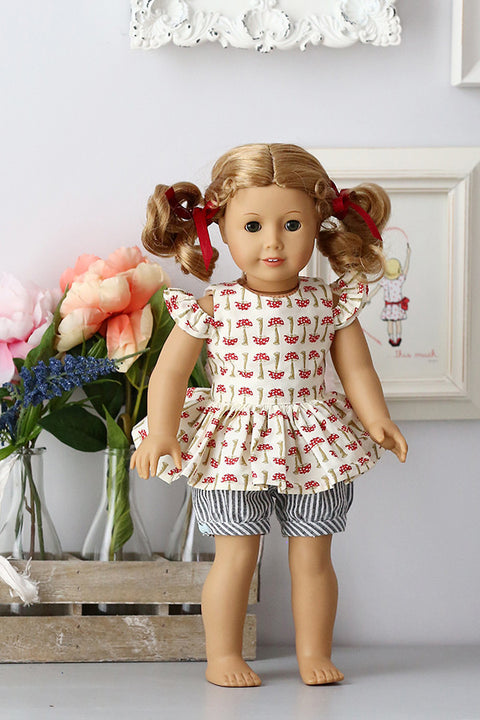 Evelyn Doll Dress & Top