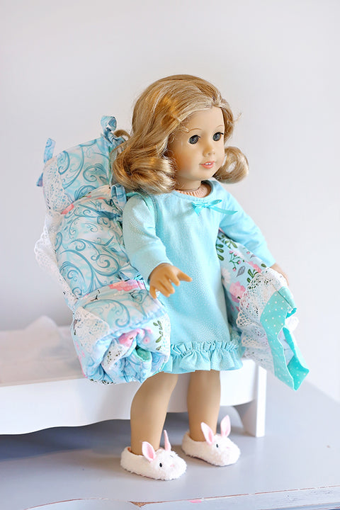 Claire Doll Sleeping Bag & Pillowcase