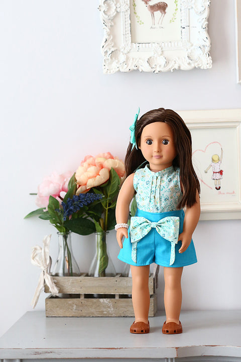 Allie Doll Top & Shorts