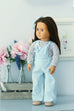 Brooklyn Doll Dress and Pant Overalls