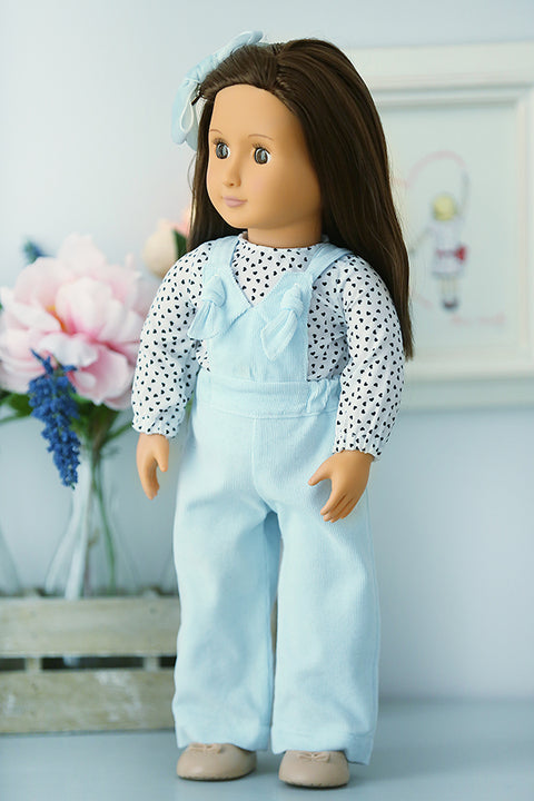 Brooklyn Doll Dress & Pant Overalls