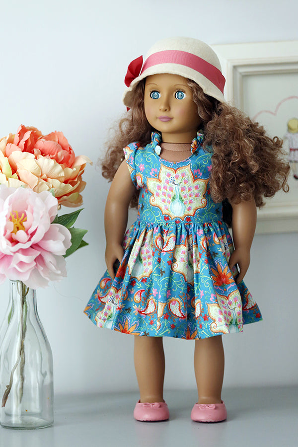 Harlow Doll Dress and Top