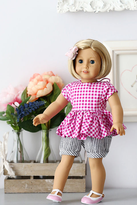 "Pixie 18"" Doll Dress & Top"
