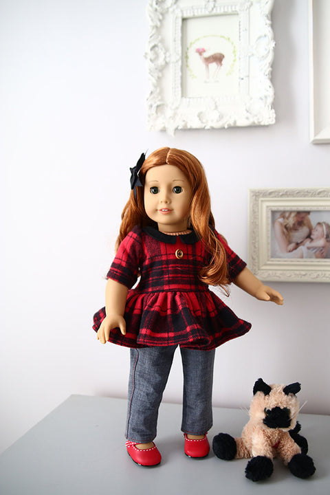 Pepper Doll Dress & Top - Violette Field Threads  - 1