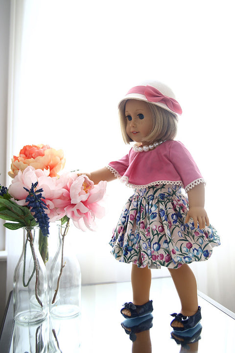 Genevieve Doll Dress - Violette Field Threads  - 1