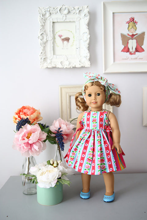 Joy Doll Dress & Top - Violette Field Threads  - 1
