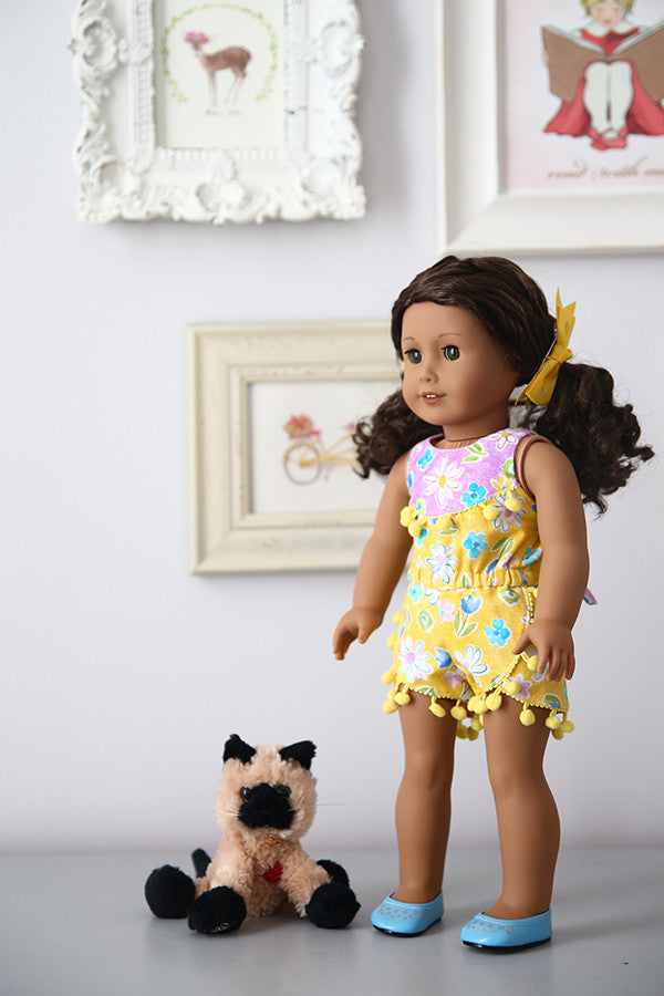 Sommer Doll Romper - Violette Field Threads  - 1