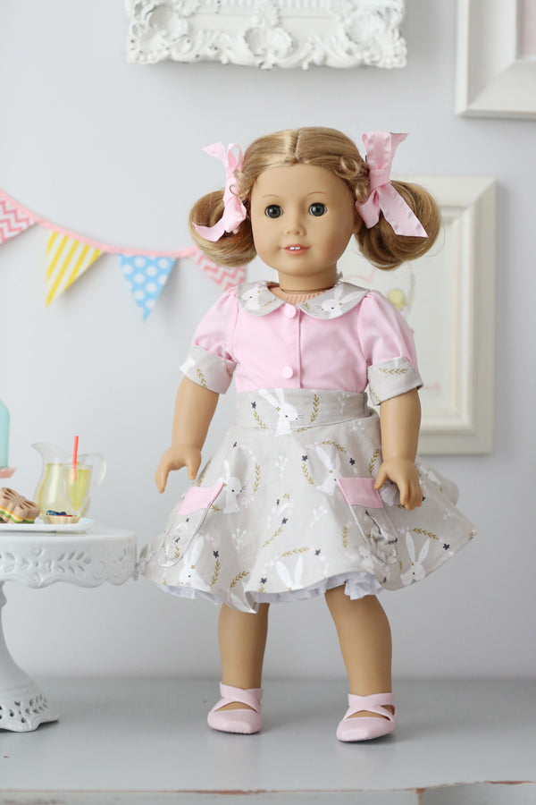 Gemma Doll Blouse & Skirt