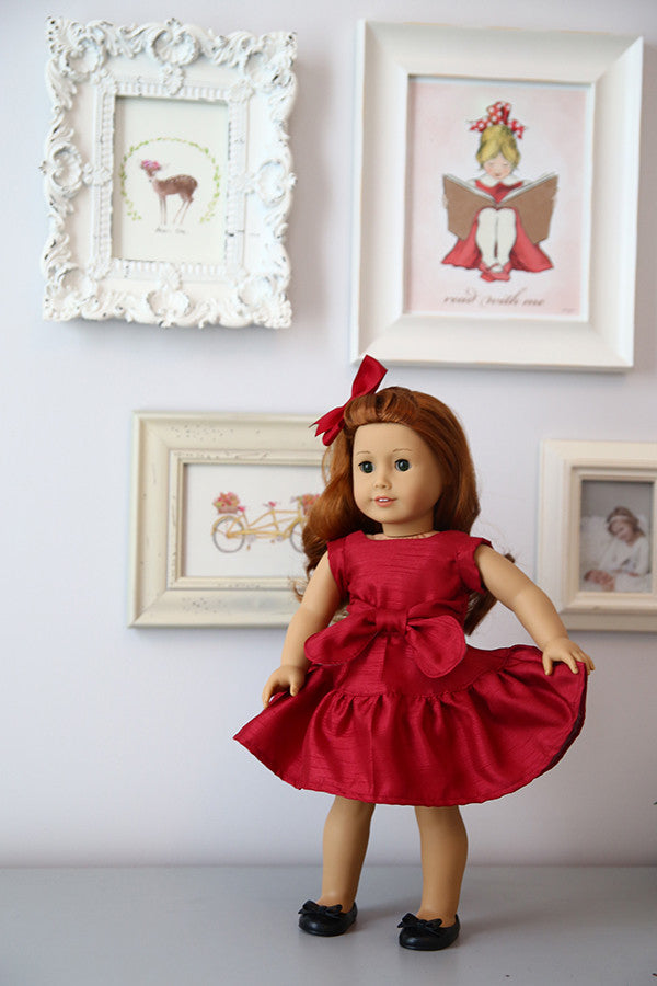 Victoria Doll Dress & Top - Violette Field Threads  - 1