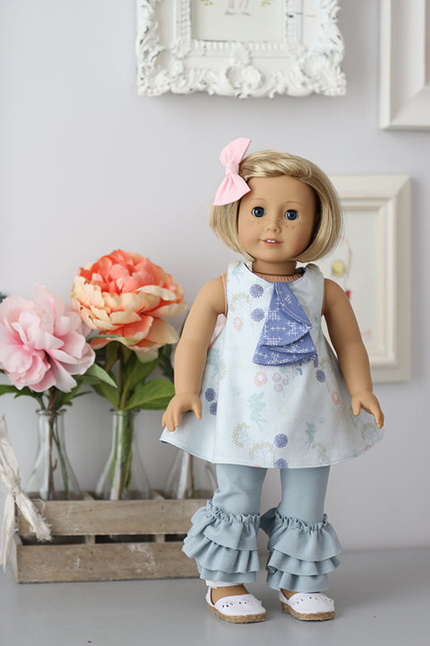 Lilly Belle Doll Pinafore and Leggings