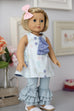 Lilly Belle Doll Pinafore & Leggings