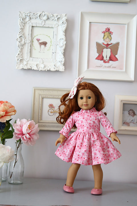 Georgia Doll Dress - Violette Field Threads  - 1
