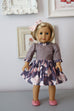 Georgia Doll Dress - Violette Field Threads  - 2