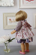 Georgia Doll Dress - Violette Field Threads  - 21