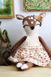 "Dainty Deer 18"" Doll - Violette Field Threads  - 2"