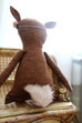 "Dainty Deer 18"" Doll - Violette Field Threads  - 7"