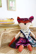 "Fiona Fox 18"" Doll - Violette Field Threads  - 1"