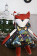 "Fiona Fox 18"" Doll - Violette Field Threads  - 19"