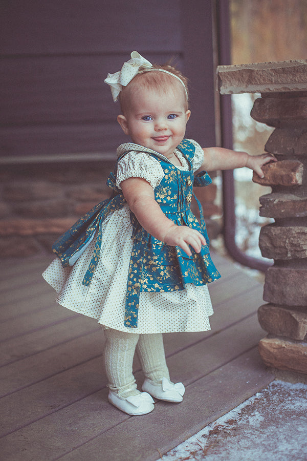 Rosemary Baby Pinafore