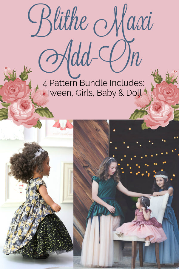 Blithe Maxi Add On 4 Pattern Bundle