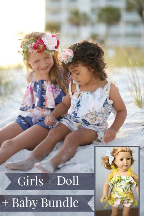 Priscilla Girls + Baby + Doll Bundle