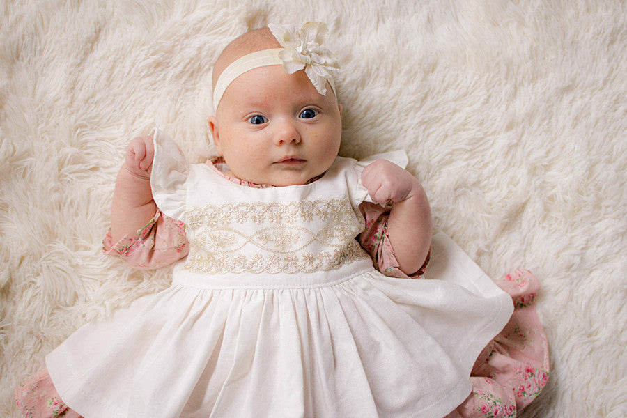 pearl baby dress pinafore violette field threads