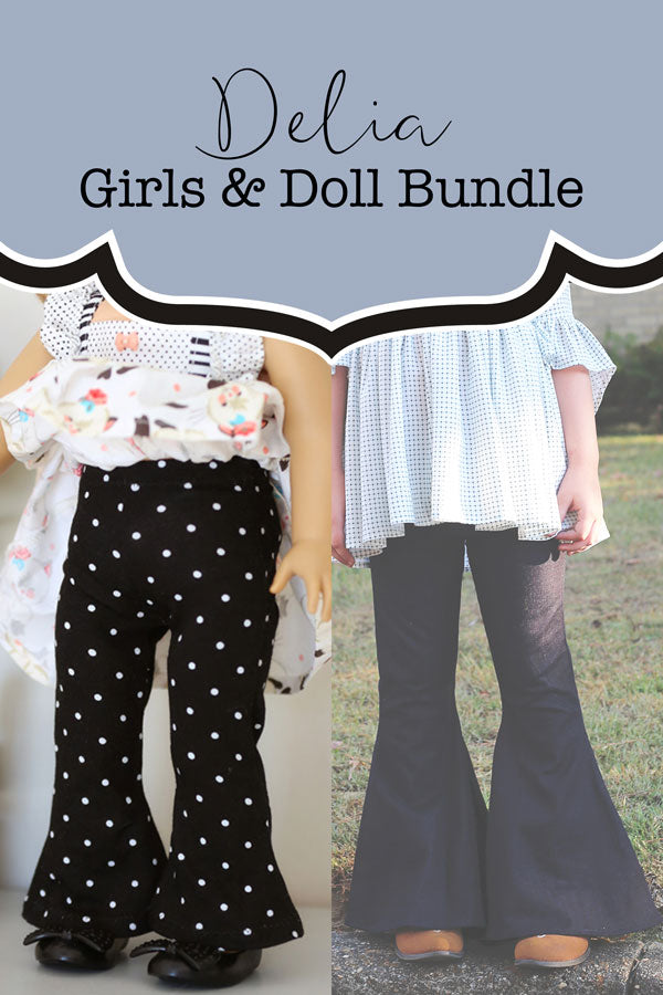 Delia Girls & Doll Bundle