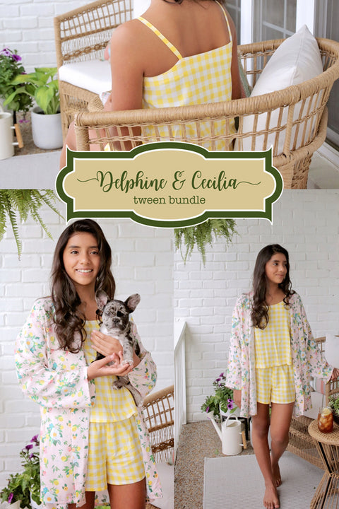 Cecilia + Delphine Tween Bundle