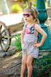 Sommer Romper - Violette Field Threads  - 36