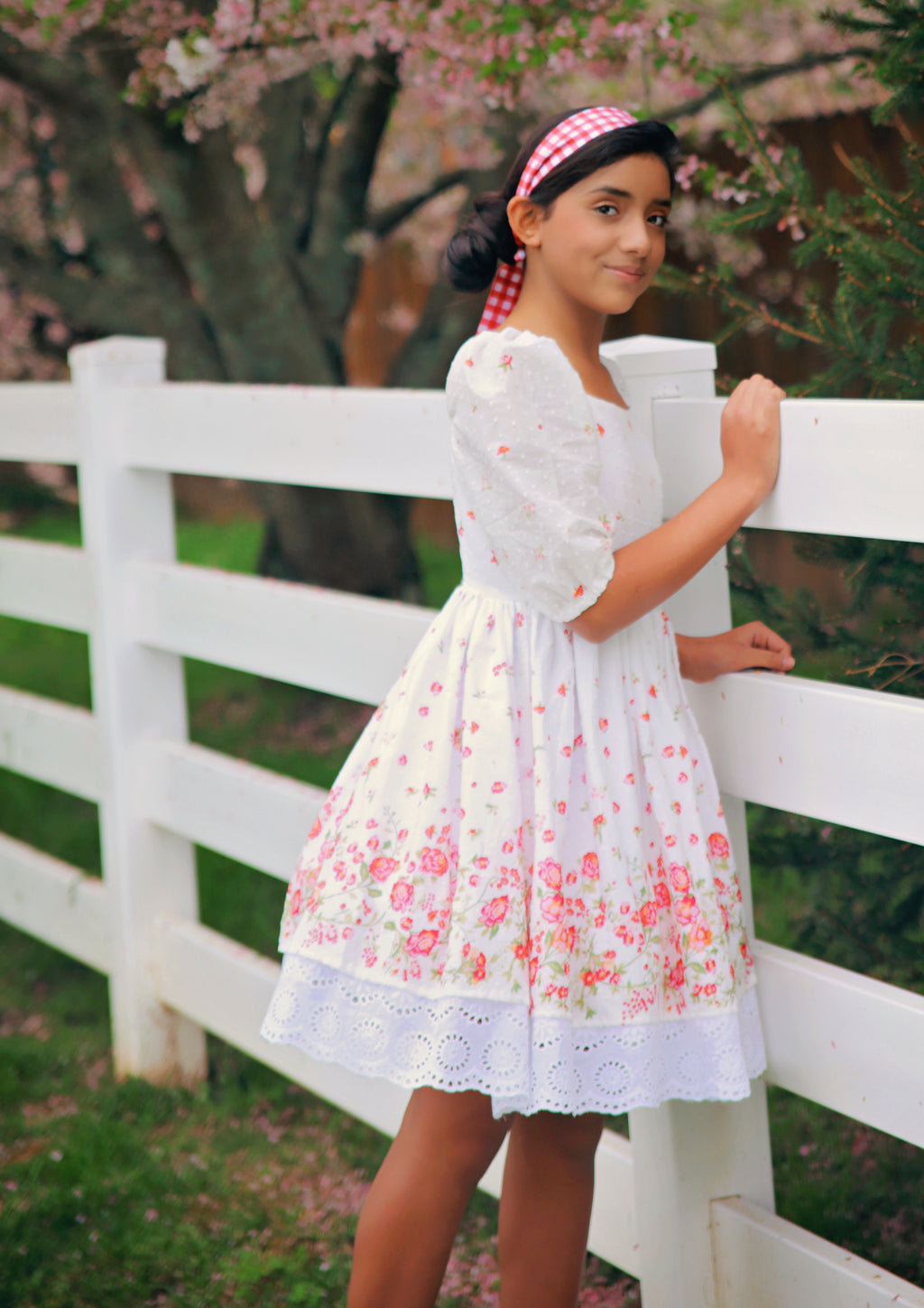 Evangeline Tween Top & Dress