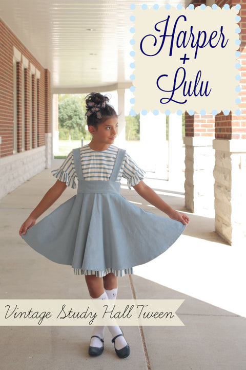 Vintage Study Hall Tween: Harper Tween and Lulu Tween Bundle