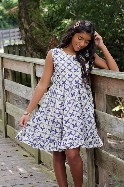 Harriett Tween Top & Dress